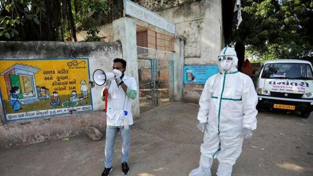 In September, a village in Haryana had prevented health officials from testing villagers and destroyed their testing kits.(REUTERS Photo/Representative)