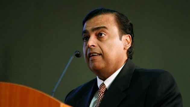 """Before Jio, India was stuck with 2G technology. """"Jio wanted to end India's data misery and unleash a digital revolution,"""" Mukesh Amabni said.(REUTERS)"""