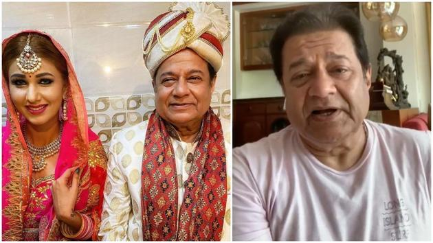 Anup Jalota with Jasleen Matharu in the viral picture.