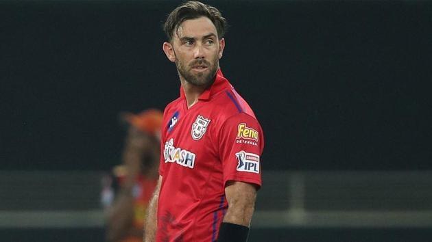 IPL 2020: Glenn Maxwell endured another low score(Kings XI Punjab/Twitter)
