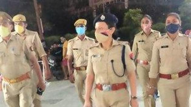 A police team from Dadri reached the spot and sent the victim for medical examination. (File Photo@noidapolice)