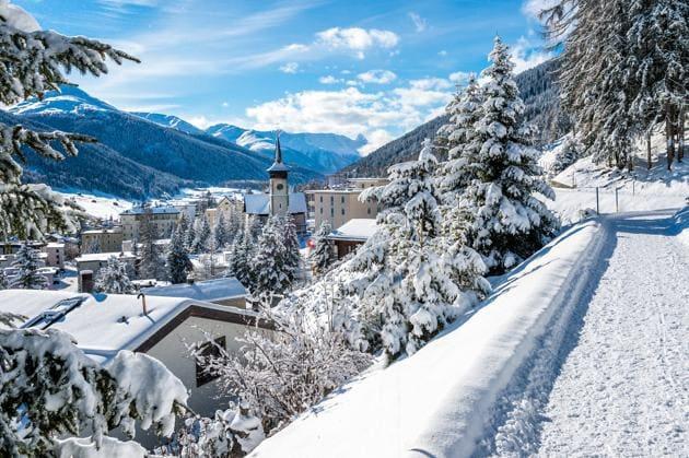 Davos, the venue for the World Economic Forum.(Shutterstock)