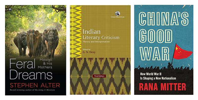 The new adventures of Mowgli, China's reassessment of its experience of WWII, and India's tradition of literary criticism feature on this week's list of good reads.(HT Team)