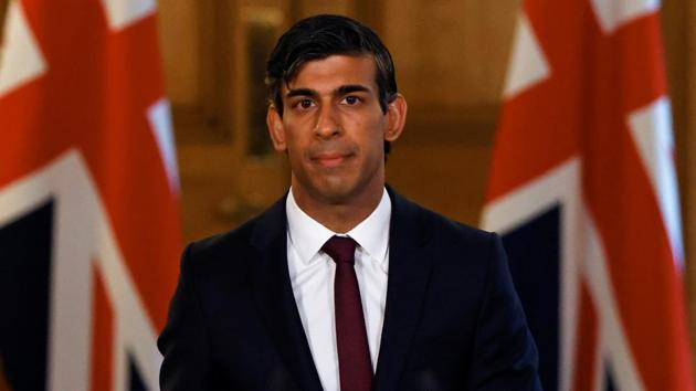 Rishi Sunak had previously resisted calls to increase the generosity of the government's support schemes amid fast-rising job losses and his announcement on Friday is likely to herald the temporary closure of bars and other businesses.(REUTERS)
