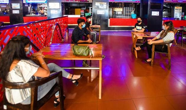 Severely impacted by the Covid-19 pandemic, the restaurant business is struggling to survive as many popular eateries have also been forced to shut down(Photo: Amal KS/HT)