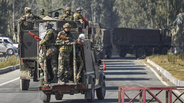 Lt Gen BS Raju said there have been other attempts to send weapons into other parts of Jammu & Kashmir and even Punjab.(Repreentational Photo/PTI File)