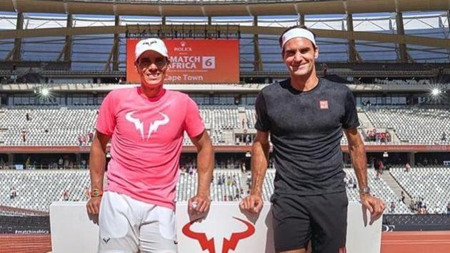 Rafael Nadal and Roger Federer(Roger Federer/Facebook)