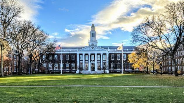 A view of Baker library, Harvard Business School, in Boston, US.(Dariusz Jemielniak/ Wikimedia Commons)