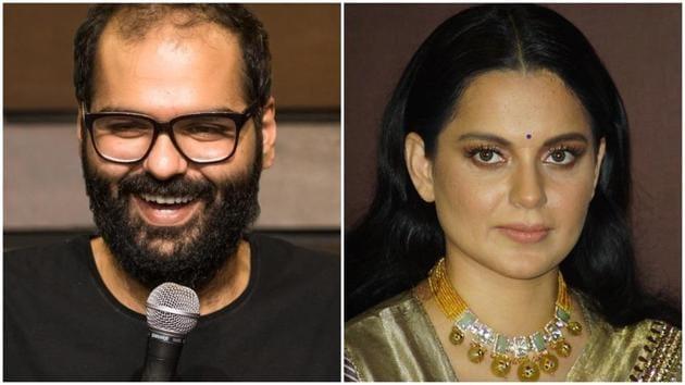 Kunal Kamra and Kangana Ranaut are once again beefing on Twitter.