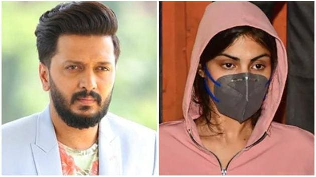 Riteish Deshmukh has tweeted in support of his Bank Chor co-star Rhea Chakraborty.