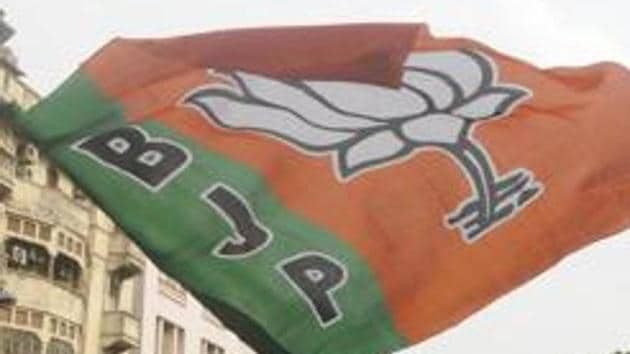 The Bharatiya Janata Party (BJP) in Bengal has been trying to corner the ruling Trinamool Congress (TMC) over corruption in the party's ranks.(HT PHOTO)