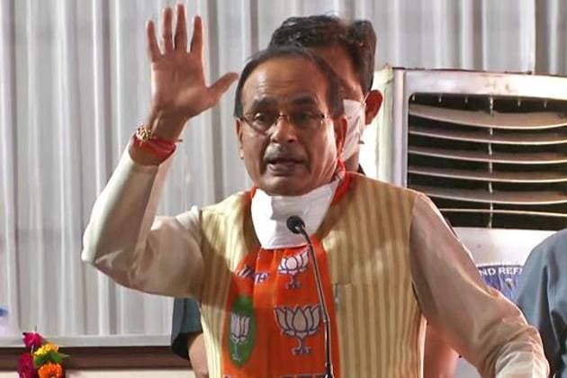 MP chief minister Shivraj Singh Chouhan tweeted to say that he will continue to work for the rights of the downtrodden.(ANI Photo)