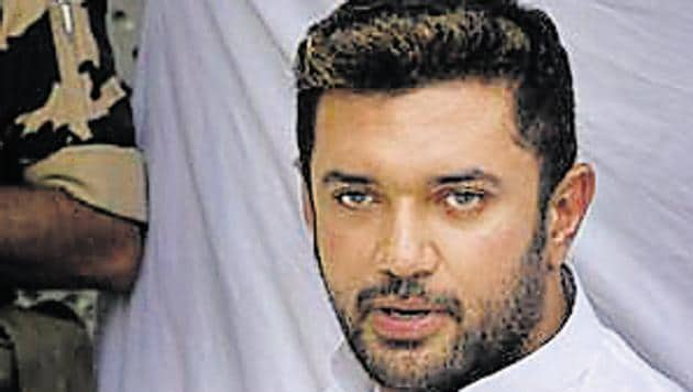 File photo: Lok Janshakti Party leader Chirag Paswan.(Arvind Yadav/ Hindustan Times)