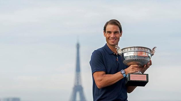 Rafael Nadal with the Rolland Garros 2020 title(Getty Images)