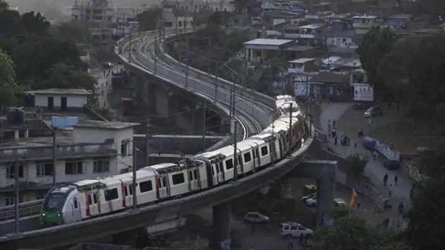 Metro rail services in Maharashtra have been shut since March.(HT PHOTO)