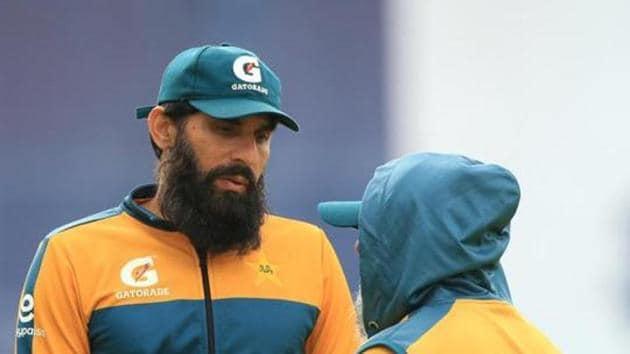 Pakistan coach Misbah-ul-Haq.(REUTERS)