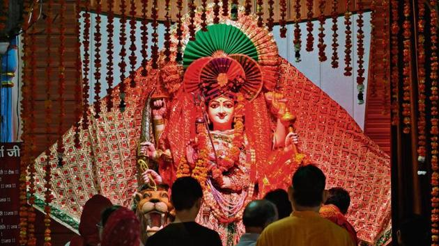 This year, Navratri will be celebrated from October 17 to 25.(Photo: Sunil Ghosh/HT)