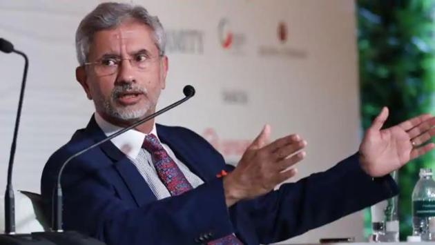 What is going on is something confidential between us and the Chinese, foreign minister S Jaishankar said on Thursday. (HT Photo)