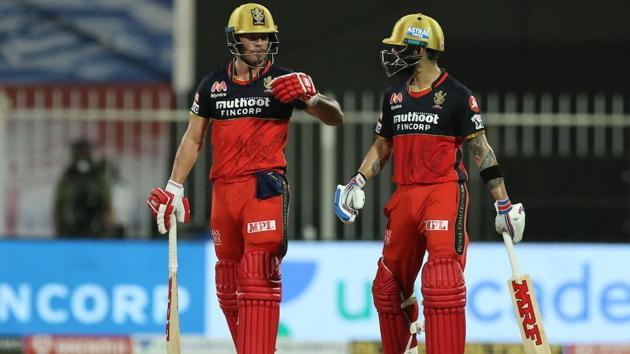 IPL 2020: Virat Kohli and AB de Villiers have been spectacular for RCB since 2011.(IPL/Twitter)
