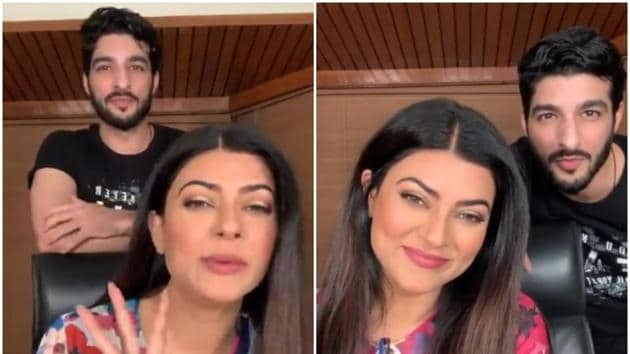 Sushmita Sen and Rohman Shawl interacted with fans on Instagram.