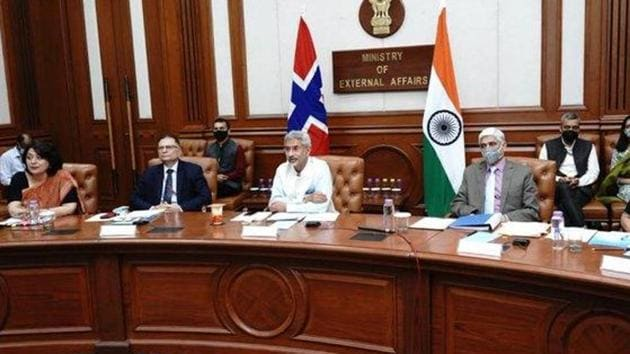 Acknowledging the gravity of the situation, S Jaishankar pointed out that India and China had built their relationship and expanded cooperation over the past 30 years. (Photo @DrSJaishankar)