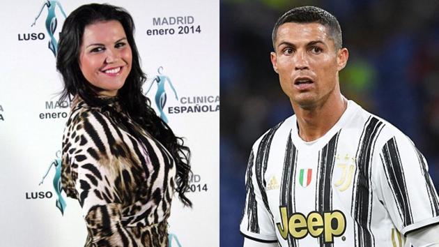 File images of Katia Aveiro and Cristiano Ronaldo.(Getty Images)