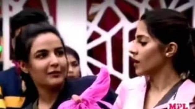 Bigg Boss 14 day 13 promo: Jasmin Bhasin and Nikki Tamboli got into a heated altercation.