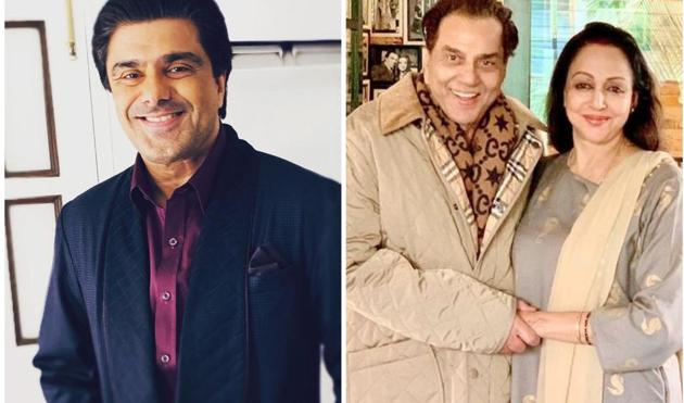 Samir Soni played Hema Malini's son in Baghban.