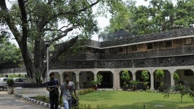 The Ambedkar University in New Delhi.(HT Archive)
