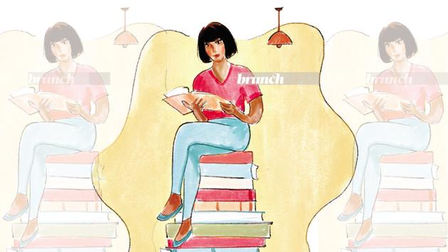 With nowhere to go and no one to see, many of us have rediscovered our love of books and of reading(Illustration: Aparna Ram)