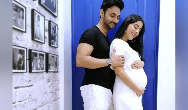 Amrita Rao is expecting her first child with her husband.