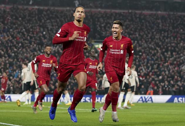 Liverpool's Virgil van Dijk.(AP)