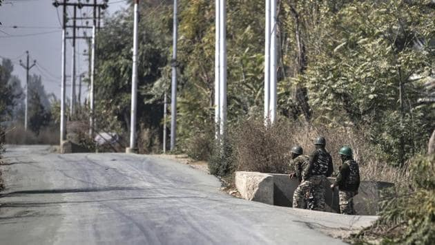 Two terrorists were gunned down by security forces in Shopian.(AP/For Representative Purposes Only)