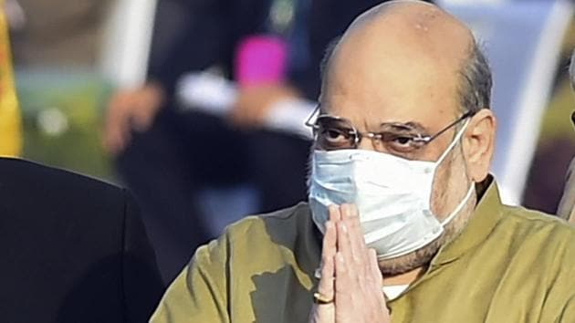 Union home minister Amit Shah said the approval of bonus by the Cabinet will bring cheer in the lives of central government employees.(PTI Photo)