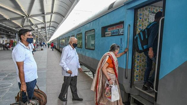 The all-India union of the railway staff has called for a two-hour strike on October 22 if their bonus is not announced by October 21.(PTI)