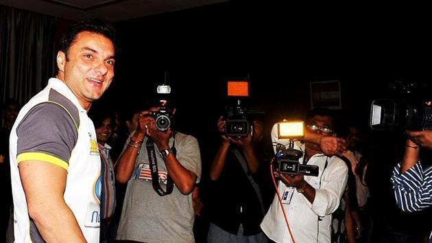 File photo of actor Sohail Khan.(AFP)