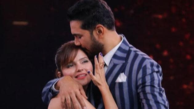 Rubina Dilaik has entered Bigg Boss 14 with husband Abhinav Shukla.