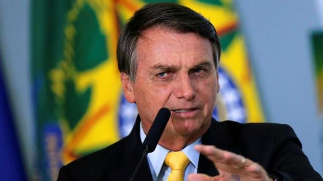 Bolsonaro's decision came as a dampener for China's push to use its vaccines as a diplomatic tool to enhance its global image with the supply of coronavirus vaccines to especially developing countries(Reuters Photo)