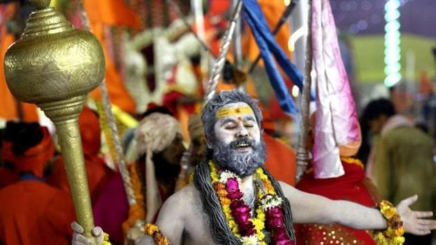 The arrival and deployment of the Kumbh Mela security personnel is being planned in five phases which may be changed according to restrictions, e-passes, number of pilgrims approved by the government during Kumbh, mela officials said. (Image used for representation).(FILE PHOTO.)