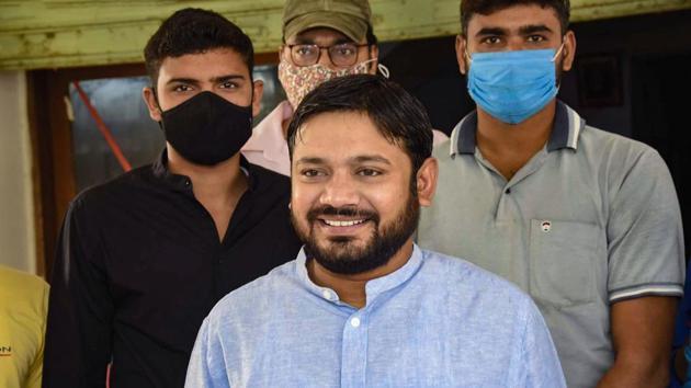 CPI leader Kanhaiya Kumar.(PTI)