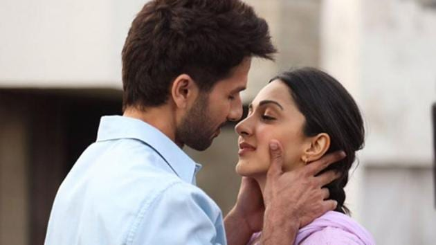 Kiara Advani and Shahid Kapoor in a still from Kabir Singh.