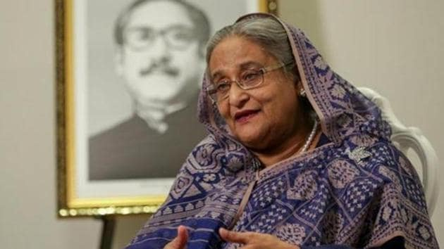 Bangladesh Prime Minister Sheikh Hasina in New York, 2018(REUTERS)