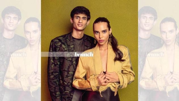Models Mansi and Neeraj pose exclusively for HT Brunch and answers some tough questions. Blazer and pant suit, Two Point Two; heels, Steve Madden; belt, Kanika Goyal Label; earrings, Eurumme. Art direction: Amit Malik; Styling assistant: Tanya Aggarwal; Make-up and hair: Preeti Sharma(Shivamm Paathak)