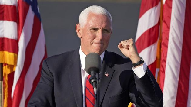 Mike Pence himself has so far escaped infection(AP)