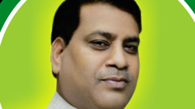 JDU's Santosh Kumar Nirala is eyeing a third term.(Twitter)