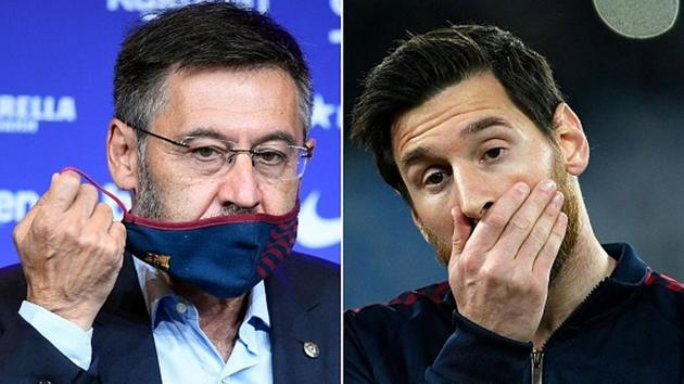 Barcelona president Bartomeu quits in fallout of Messi feud   Football News  - Hindustan Times
