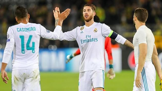 Next up for Madrid is a double-header against Inter Milan, the team which was supposed to be its toughest rival in Group B but which is also still without a win.(Getty Images)