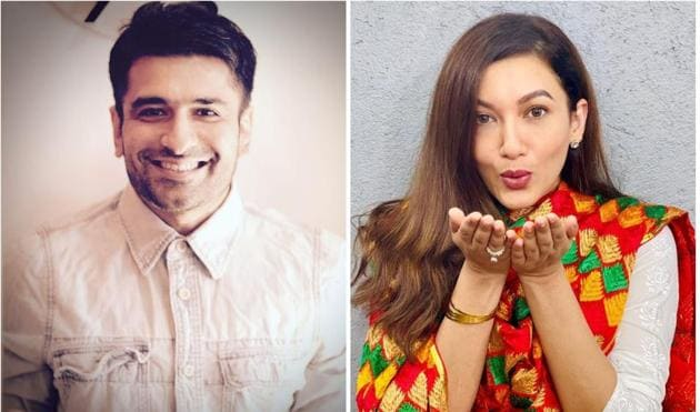Gauahar Khan responded to Eijaz Khan's confession that he used to have a crush on her.
