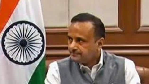 External affairs ministry spokesperson Anurag Srivastava on Thursday said India had conveyed the country's serious concern to Saudi Arabia, both through their ambassador in New Delhi as well as in Riyadh, for misrepresentation of India's external territorial boundaries on an official and legal banknote of Saudi Arabia .(PTI PHOTO.)