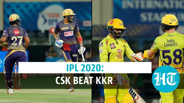 IPL 2020: Chennai Super Kings beat KKR by 6 wickets